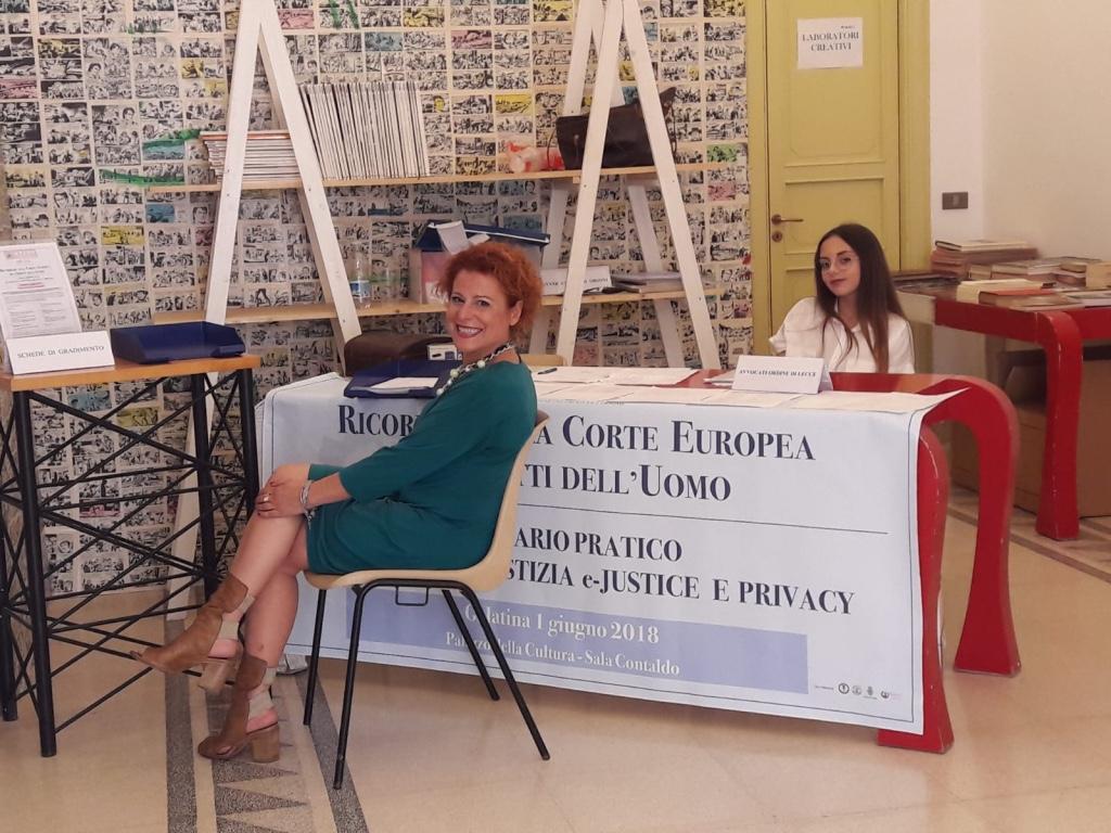Avv Patrizia Sabella e Chiara Cavalieri
