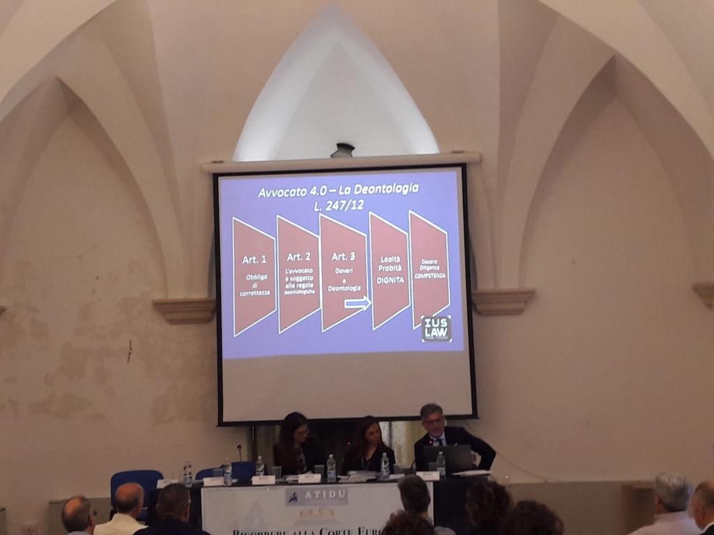 Avv Pino Gallo al Seminario Atidu