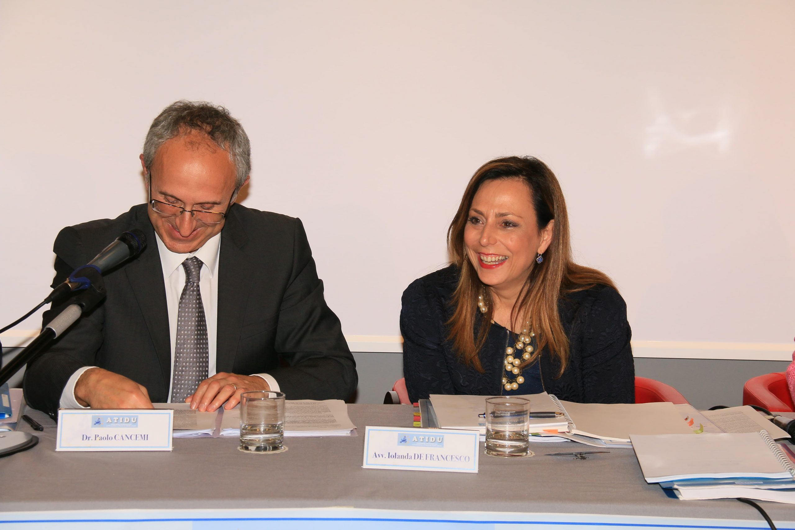 Dr Paolo Cancemi con Avv Iolanda De Francesco